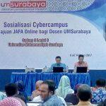 SOSIALISASI CYBERCAMPUS DAN JAFA ONLINE