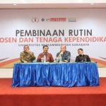 Pembinaan Dosen dan TKP UMSurabaya 10 Des 2019